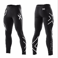 2015 Professional Lycra Compression Leggings Tights Men Trousers Training Active Pants Weight Liftin