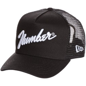 (ナンバーナイン)NUMBER (N)INE MESH CAP_NUMBER (N)INE×NEW ERA_number9 BH1NNE003 BLACK ONE