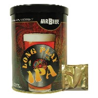 Mr. Beer Long Play IPA Homebrewing Craft Beer Refill Kit by Mr. Beer