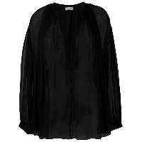 Sonia Rykiel - v-neck blouse - women - シルク - 40