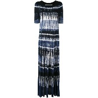 Raquel Allegra - tie-dye maxi dress - women - レーヨン - 0