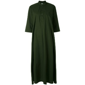 Labo Art - long shirt dress - women - コットン - 0