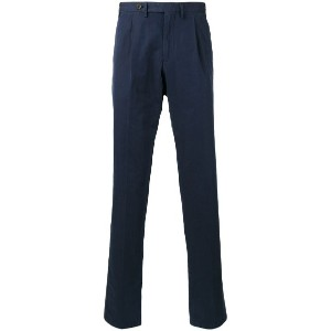 Canali - tapered trousers - men - コットン - 44