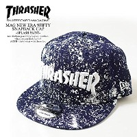 (スラッシャー)THRASHER MAG NEW ERA 9FIFTY SNAPBACK CAP -SPLASH PAINT- SPLASHPAINT FREE