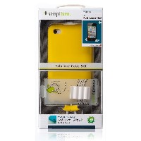 Simplism 2011年発売 iPod touch (4th) 抗菌 シリコンケースセット 液晶保護フィルム付属 イエロー TR-SCSTCN-YL