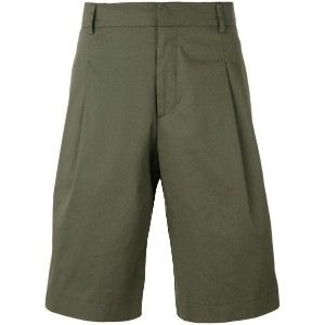 Les Hommes - side stripe shorts - men - コットン/Elastodiene - 50