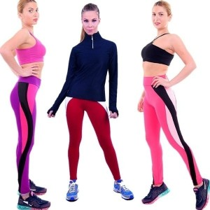 Women a Casual Work Out Fitness Breathable Gym Yoga Wear Yoga Capris for Women-vib