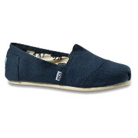 トムス(TOMS) NAVY CANVAS MEN'S CLASSICS メンズ スリッポン 001001A07-NVY (Men's)