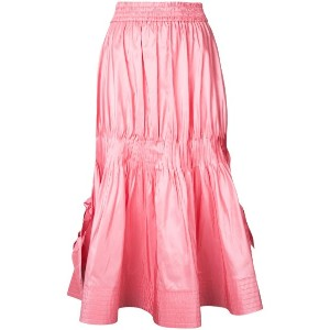 Irene - taffeta skirt - women - シルク - 34