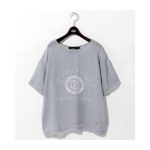 <THE RERACS>LOGO TEE-united LOVE project 20172 †【ユナイテッドアローズ/UNITED ARROWS レディス Tシャツ・カットソー MD.GRAY...