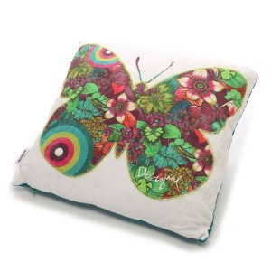【SALE 54%OFF】デシグアル Desigual CUSHION PAPALLONA 45X45(PURPLE POTION)