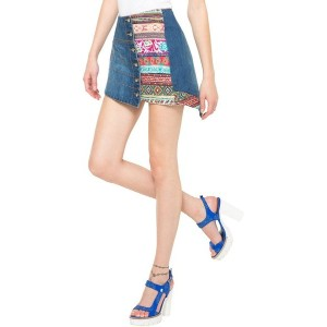 【SALE 50%OFF】デシグアル Desigual FAL_MANUELA (DENIM ELECTRIC BLUE)