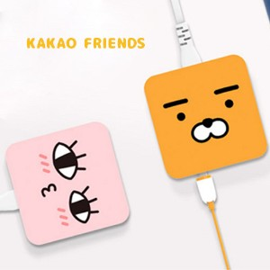 【Kakao friends】マルチ充電器ミニ4ポートWITHカカオフレンズ/最大5V3Aの速い充電速度・コンパクトなデザイン・5種キャラクター・韓国KAKAO FRIENDS正品