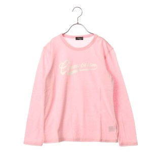 【SALE 10%OFF】コムサイズム COMME CA ISM 長袖カラーTシャツ (ピンク)