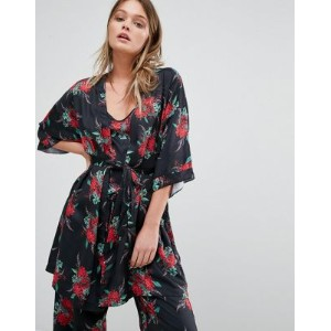 Minkpink Holiday Dreaming Floral Robe