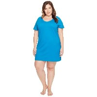 ジョッキー Jockey レディース インナー パジャマ【Jockey Cotton Essentials Plus Size Sleepshirt】Teal