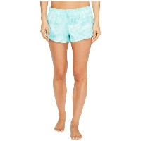 ハーレー Hurley レディース 水着 ボトムのみ【Supersuede Tie-Dye Beachrider Bottoms】Washed Teal