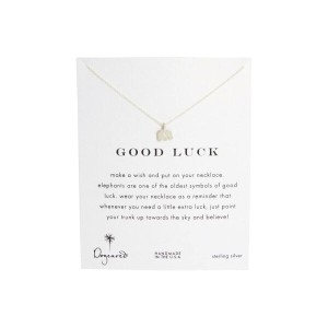 ドギャード Dogeared レディース アクセサリー ネックレス【Good Luck Elephant Reminder Necklace】Sterling Silver