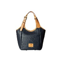 ドゥーニー&バーク Dooney & Bourke レディース バッグ トートバッグ【Patterson Penelope】Midnight Blue/Butterscotch Trim