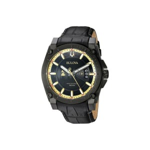 ブローバ Bulova メンズ アクセサリー 腕時計【Special Grammy Edition Precisionist - 98B293】Black