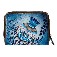 アヌシュカ Anuschka Handbags レディース アクセサリー 財布【1124 Zip Around Credit Card Case】Bewitching Blues