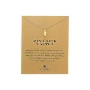 ドギャード Dogeared レディース アクセサリー ネックレス【Mind Over Matter Buddha Reminder Necklace】Gold Dipped