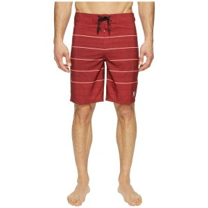 "ハーレー Hurley メンズ 水着 海パン【Phantom Pinline Boardshorts 20""】Gym Red"