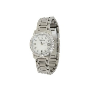 ブローバ Bulova レディース アクセサリー 腕時計【Ladies Sport/Marine Star 96R105】Stainless Steel/White Face