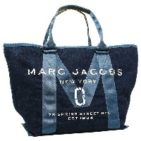 MARC JACOBS バッグ マークジェイコブス M0011123 423 NEW LOGO TOTE DENIM TOTE トートバッグ DENIM