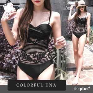 ★colorful dna ★ donna swimsuit / Korean Fashion / Trend / Summer Wear