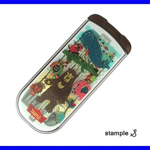 STAMPLE(スタンプル) ランチトリオセット 箸 スプーン フォーク ONE,A