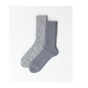 DOORS FORK&SPOON Organic Pack Sox【アーバンリサーチ/URBAN RESEARCH メンズ ソックス CCL/NVY ルミネ LUMINE】