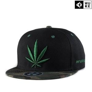 New Reggae embroidery Men Snapbacks hats Hip-hop Hat Flat-brimmed Baseball Cap (Color: Black)