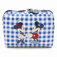 LeSportsac 7121-P934 EXTRA LARGE RECTANGULAR COSMETIC ディズニー ポーチ LOVE CHECK/ [並行輸入品]