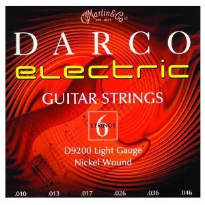 Martin Darco Nickel Wound Electric Guitar Strings (10-46)