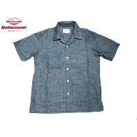 【期間限定30%OFF!】BATTEN WEAR(バテンウェア)FIVE POCKET CHAMBRAY ISLAND SHIRTS/blue
