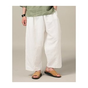 GOLD / ゴールド:COTTON /LINEN OXFORD WIDE EASY PANT【ジャーナルスタンダード/JOURNAL STANDARD その他(パンツ)】