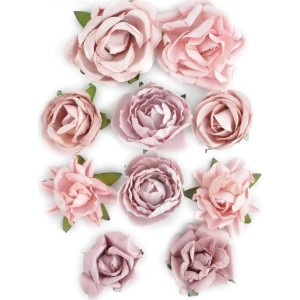 "Paper Blooms 1"" To 1.5"" 10/Pkg-Dusty Pink (並行輸入品)"