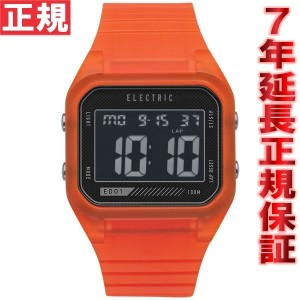 エレクトリック ELECTRIC 腕時計 ED01PU ORANGE TRANSLUCENT ED1P2-ORT