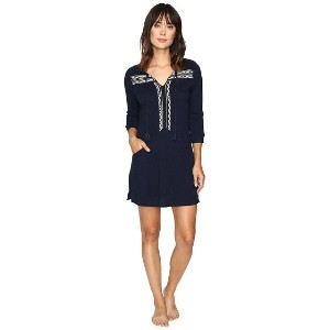 Lucky Brand Embellished Knit Tunic w/ Pocket