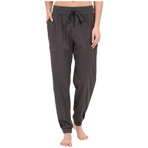 Midnight by Carole Hochman Lounge Woven Jogger Pants