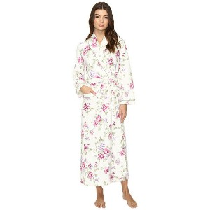 Carole Hochman Diamond Quilted Long Robe