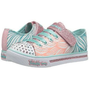 SKECHERS KIDS Twinkle Toes - Sparkle Glitz 10710L Lights (Little Kid/Big Kid)