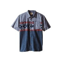 Vans Kids Merced Short Sleeve Woven (Big Kids)