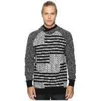 Staple Check Jacquard Hooded Sweater