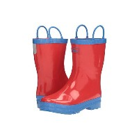 Hatley Kids Red & Blue Rain Boots ブーツ (Toddler/Little Kid)