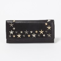 (ジミーチュウ) JIMMY CHOO 財布 長財布 NINO LTU 000715 BLACK/METALLIC MIX [並行輸入品]