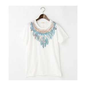 TRIBAL Feather Necklace Tシャツ【goa/goa Tシャツ・カットソー】