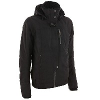 Quechua(ケシュア) ESCAPE WARM BOMBER JACKET WOMEN S BLACK 8224615-1547973