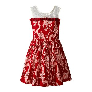 fiveloaves twofish Winter Windsor Castle Party Dress (Little Kids/Big Kids)